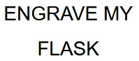 Engrave My Flask Coupon