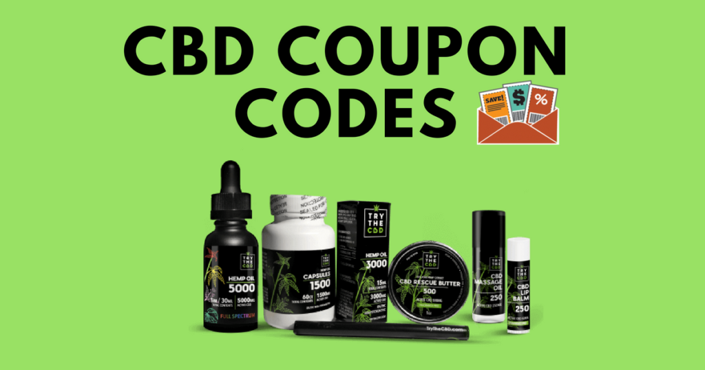 cbd coupon & discount codes
