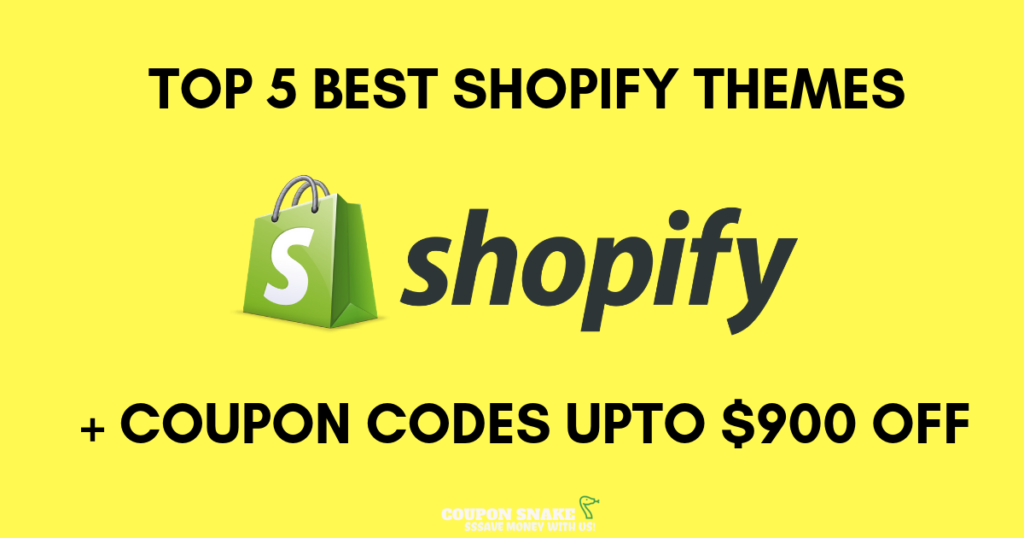 Top 5 Best Shopify Themes Coupon Codes