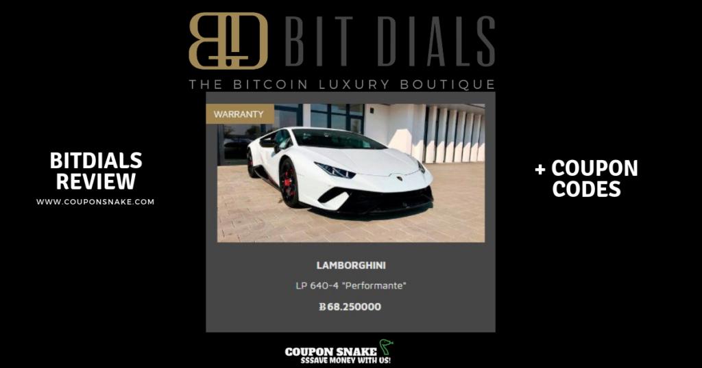 BitDials coupon code