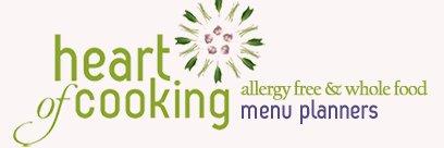 Allergy Free Menu Planners