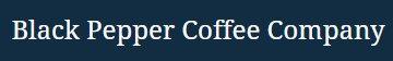 Black Pepper Coffee Company coupon