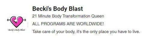 Beckis Body Blast coupon