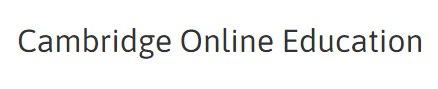 Cambridge Online Education Ltd discount code